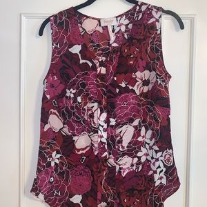 Laundry by Shelli Segal sleeveless blouse S